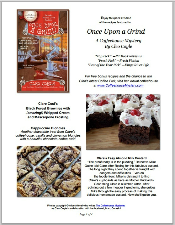 Once upon a Grind (Coffeehouse Mysteries, Book 14) by Cleo Coyle (Author)