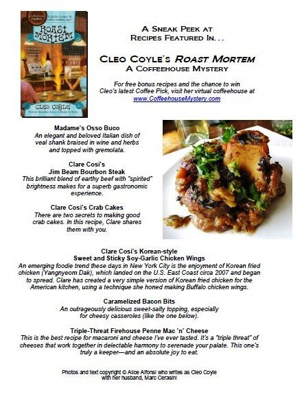 Cleos message board coffeehousemystery to see more recipes featured in roast mortem forumfinder Choice Image