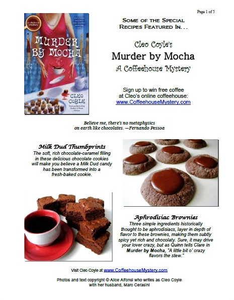 Cleos recipes coffeehousemystery recipe blog post forumfinder Choice Image